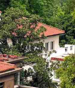 상해의 오래된 서양식 주택 10채