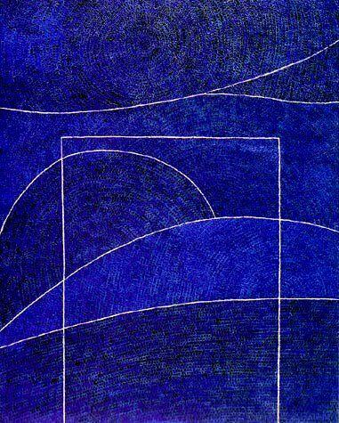뉴욕시대의 그의 화풍(畵風)은 점화(點畵)로 완성형을 이룹니다.